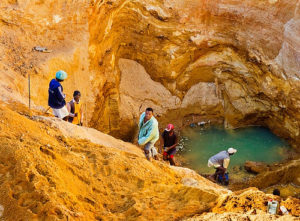 Sapphir Minen in Ilakaka
