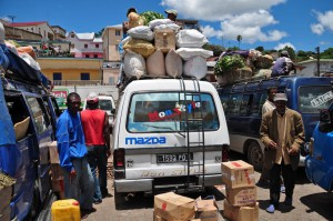 Sammeltaxi auf Madagaskar
