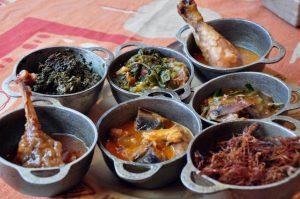 Fleischgerichte auf Madagaskar