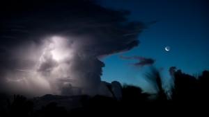 Gewitter im Norden von Madagaskar