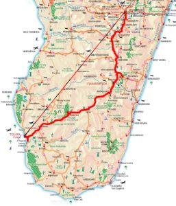 Karte Gruppenreisen N7