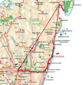 Karte Masoala + Andasibe