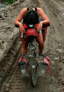 Klara Harden Fahrrad Piste