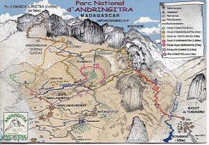 andringitra Karte