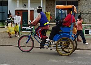 Fahrradriksha Madagaskar