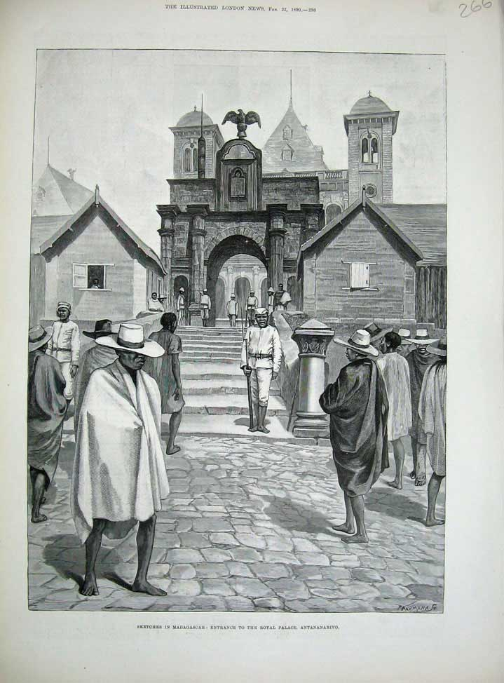 tana entrée palais