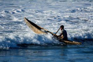 Fischer im Indischen Ozean