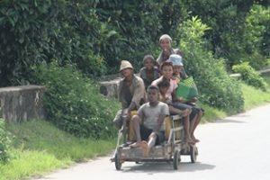 Karren bei Fianarantsoa