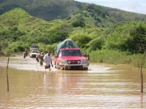 Vanilleküste zur Regenzeit