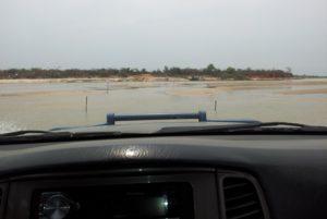 Flussdurchfahrt