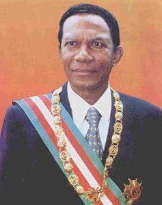 Didier Ratsiraka Madagaskar