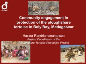 Pflugschar Schildkröten Schutz Programm