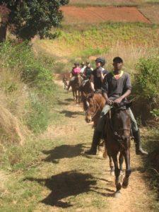 Reiten durch Madagaskar