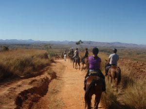 Reiten auf Madagaskars Hochland