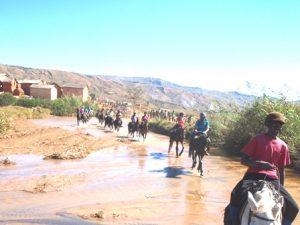 Reiten quer durch Madagaskar