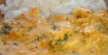 Curry mit Kokos