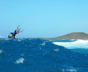 Kitesurfing-Spot